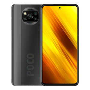"Xiaomi POCO X3 NFC 128GB Shadow Gray EU [16,94cm (6,67"") LCD Display, Android 10, 64MP Quad-Kamera]"