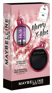 Maybelline New York X-Mas Set Falsies Lash Lift Mascara Black + Color Sensational Mono Lidschatten Nr. 125