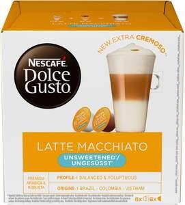 "Nescafé Dolce Gusto Kapseln ""Latte Macchiato ungesüsst"""