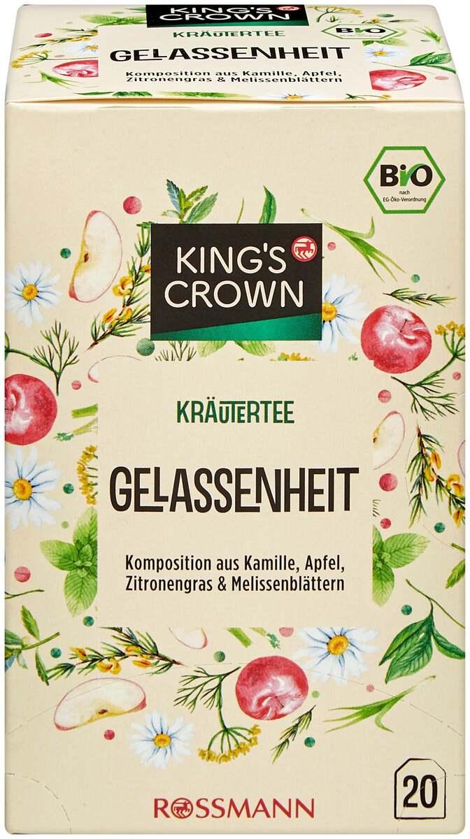 Bild 1 von King's Crown Bio Kräutertee Gelassenheit