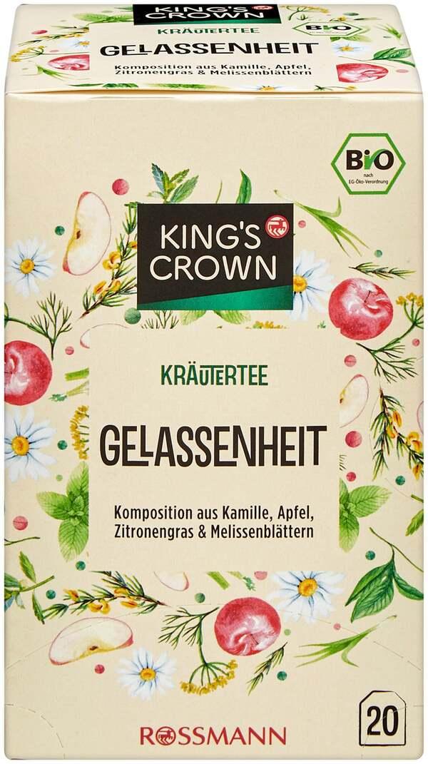 King's Crown Bio Kräutertee Gelassenheit
