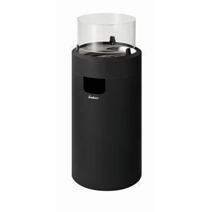 Enders Gas-Feuerstelle 'Nova LED M' schwarz Ø 36 x 88 cm