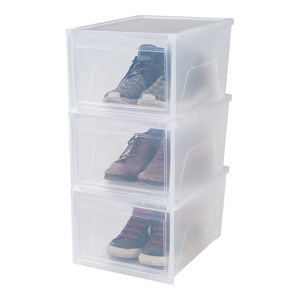 Schuh- und Sneakerbox transparent
