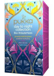 Pukka day to night collection Bio-Kräutertees