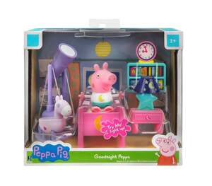 Jazwares Peppa Pig Kleine Zimmer Spielsets