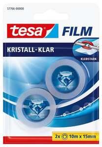 Tesa tesafilm® kristall-klar, 2 Rollen, 10mx15mm