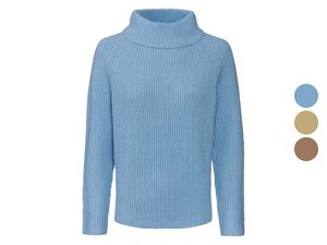 HUCKE Berlin Pullover Damen, mit Stehkragen, Raglanärmel