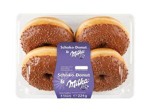 Milka-Schoko-Donuts