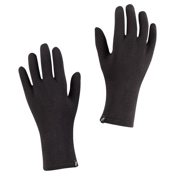 ElephantSkin Wiederverwendbar und bei 40/°C waschbar Der antibakteriell behandelte Handschuh aus zertifizierter Bio-Baumwolle in der Farbe schwarz Gr/ö/ße L//XL