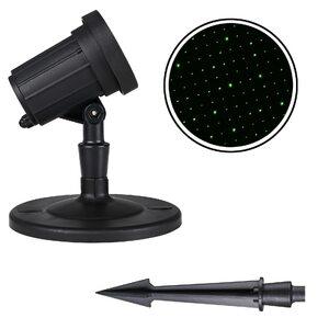 Deuba LED Leuchtstrahler Sternenhimmel grün