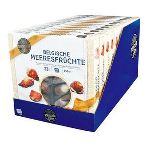 Schokoliebe Belgische Meeresfrüchte 250 g, 12er Pack