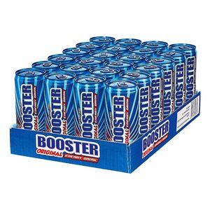 Booster Energy Drink Regular 0,33 Liter Dose, 24er Pack