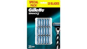 Gillette Mach3 Rasierklingen 25 Stück