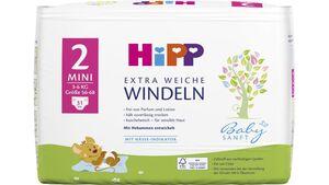 HiPP Babysanft Windeln Mini 2 Einzel