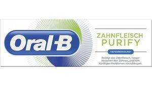 Oral-B Zahnpasta Zahnfleisch Purify Tiefenreinigung