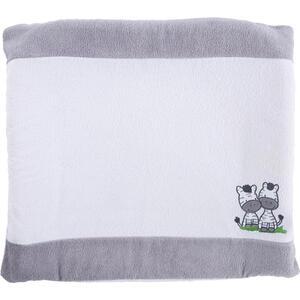 My Baby Lou Wickelauflagenbezug , MIT Zebra , Grau, Weiß , Textil , Tier , 75x85 cm , 009032001601