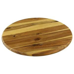 Homeware Drehplatte , 28449-26 , Naturfarben , Holz , Robinie , massiv , 3 cm , geölt,Echtholz , 0084350048
