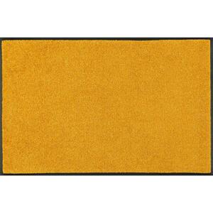 Esposa Fußmatte 75/120 cm uni honig , Honey Gold , Textil , 75x120 cm , rutschfest, für Fußbodenheizung geeignet , 004336031952
