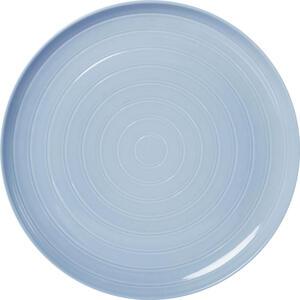Novel Speiseteller keramik porzellan , Sylt , Hellblau , Uni , glänzend , 007792001605