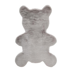 Ben'n'jen Kinderteppich 80/120 cm hellgrau , Balu , Textil , 80x120 cm , für Fußbodenheizung geeignet , 008104009801