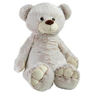 My Baby Lou Plüschtier , Bär , Hellgrau , Kunststoff, Textil , 60 cm , glänzend,Plüsch , 003438001303