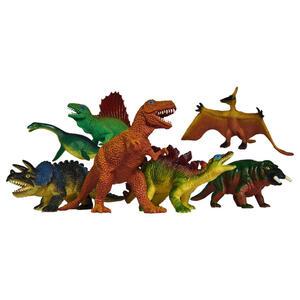Simba Tierset , Dino Set , Blau, Braun, Grün, Orange , Kunststoff , 004130001701