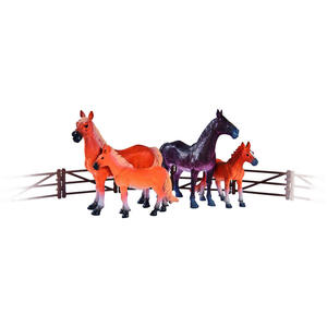 Simba Tierset , Pferde , Braun, Beige , 004130001601