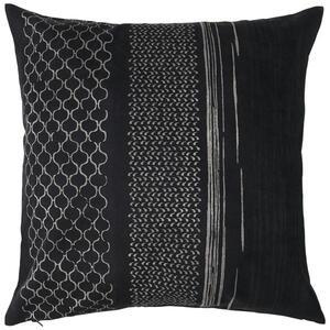 Ambiente Kissenhülle schwarz , Timeless , Textil , Abstraktes , Velours , bügelleicht, hochwertige Qualität, formstabil, langlebig , 003524009002