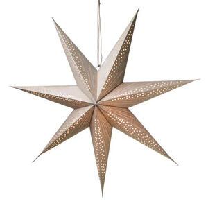X-Mas Lampion , 7576210 , Silberfarben , Papier , Stern , 008882105102