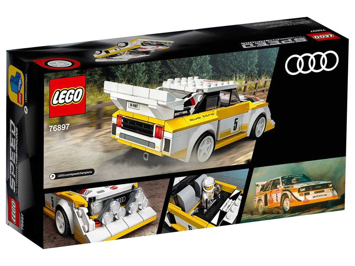 Bild 1 von LEGO® Speed Champions 76897 »1985 Audi Sport quattro S1«