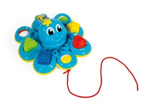 Clementoni Formensortierer »Oktopus«, Zahlen, Formen, Farben, ab 10 Monaten