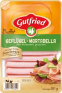 """Gutfried """"Buffet"""" Geflügel-Frischwurstaufschnitt"""