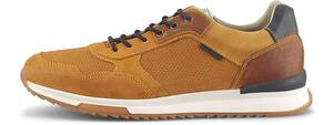 COX, Fashion-Sneaker in gelb, Schnürschuhe für Herren