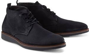COX, Freizeit-Schnürer in schwarz, Stiefel für Herren