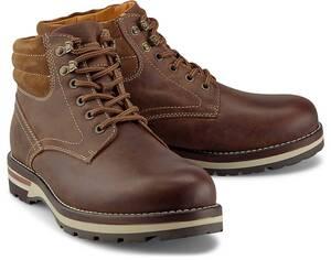 COX, Winter-Boots in dunkelbraun, Boots für Herren