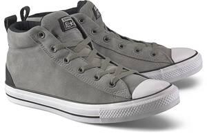 Converse, Sneaker Ctas Street - Mid in hellgrau, Sneaker für Herren
