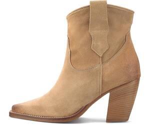 Curiosité, Western-Boots in beige, Stiefeletten für Damen