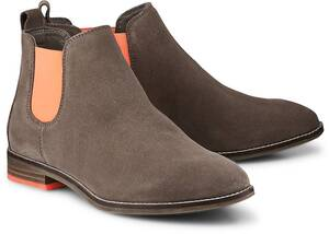 COX, Chelsea-Boots in taupe, Boots für Damen