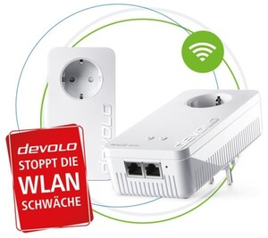 Devolo Magic 1200+ WiFi Starter Kit ,  2 x LAN, 1200 Mbit/s