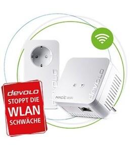 Devolo Magic 1 Wifi mini Starter Kit ,  erweiterbares Netzwerk