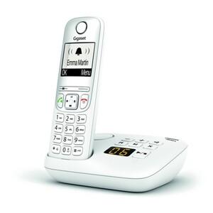 Gigaset Telefon AE690A weiß ,  1 Mobilteil, schnurlos, mit Anrufbeantworter