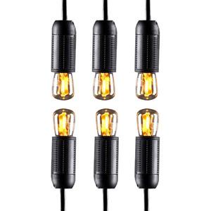 I-Glow Leuchtmittel Filament Gold - ST26 6er Set