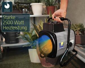 Palram Gewächshausheizung, Heizlüfter mit digitalem Thermostat, 2400Watt