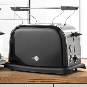 Cook o´Fino Retro-Toaster - Schwarz