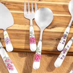 Casa Royale Salatbesteck, 2er-Set - Blume