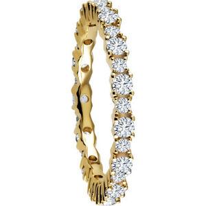Vandenberg Damen Ring, 585er Gelbgold mit mind. 28 Diamanten