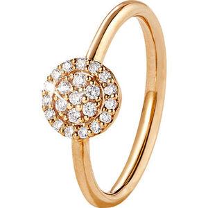 Vandenberg Damen Ring, 585er Gelbgold mit 22 Diamanten