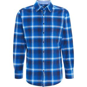 Dunmore Freizeithemd, kariert, Button-Down-Kragen, Langarm, für Herren