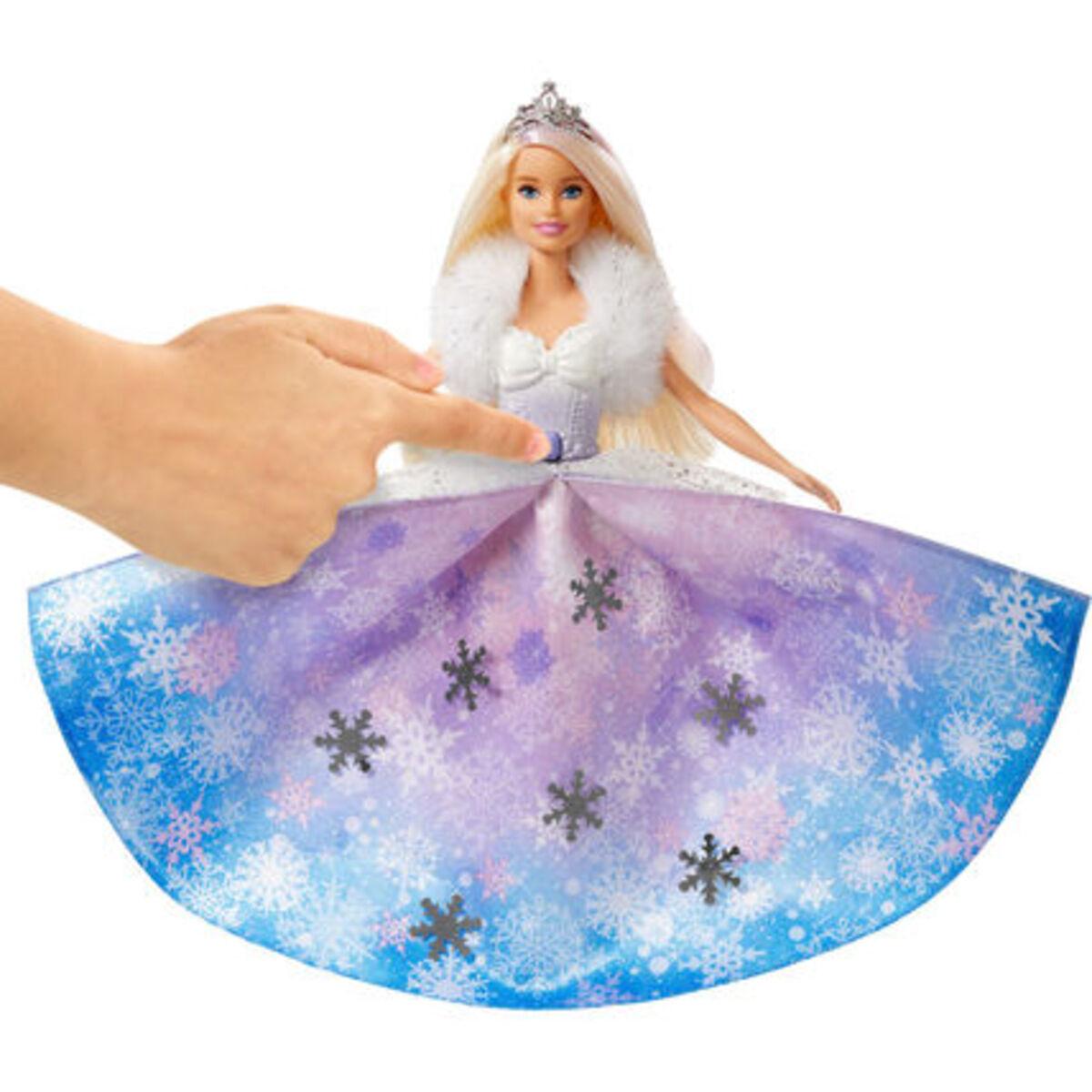 Bild 4 von Barbie Dreamtopia Fashion-Prinzessinnen-Puppe, ca. 30cm groß, blond mit pink gesträhnter Haarpartie