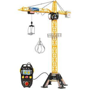 Dickie Toys Construction Mega Kran mit Kabel-Fernbedienung